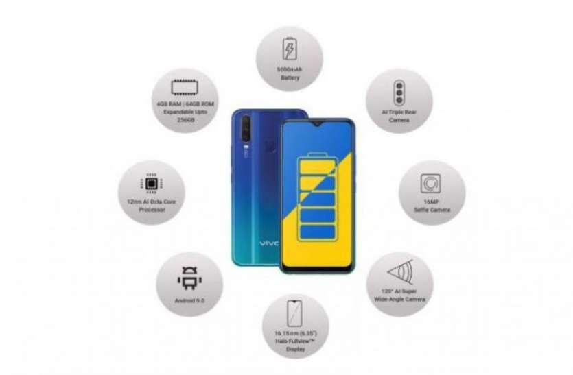 Vivo Y15 (2019) स्मार्टफोन भारत में लॉन्च, जानिए कीमत और ऑफर्स