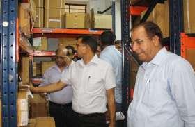 आरएमआरएस के विशेष अधिकारी ने किया अस्पताल का निरीक्षण मिली खामी