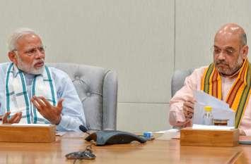 नई सरकार के लिए BJP में मैराथन बैठक जारी, मोदी और शाह लगातार कर रहे नेताओं से मुलाकात
