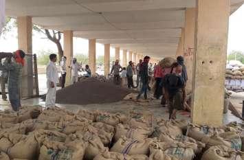 रजिस्ट्रेशन नहीं होने से सैकड़ों किसानों को मंडी में बेचना पड़ा सरसों