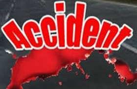 राष्ट्रीय राजमार्ग पर हादसे में बाइक सवार युवक की मौत
