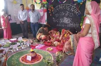 यूपी के इस जिले में गोदभराई शादी से पूर्व नहीं, गर्भधारण पर होती है