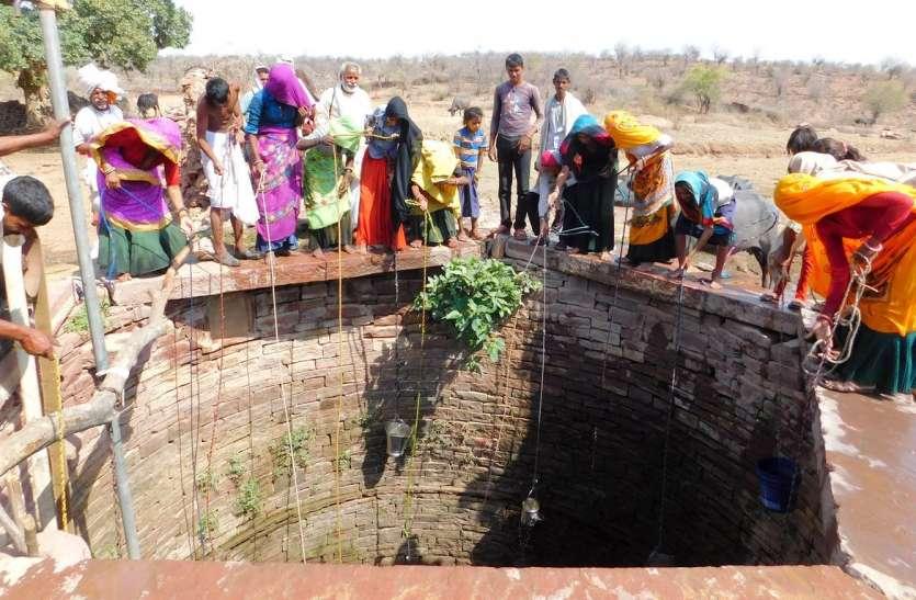 राजस्थान के इस गांव में ग्रामीणों ने जल संरक्षण की ठानी