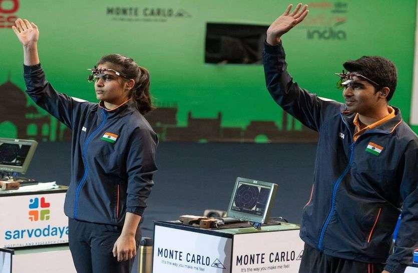 निशानेबाजी विश्व कप : मनु-सौरभ की जोड़ी ने जीता स्वर्ण, पदक तालिका में 5 स्वर्ण के साथ भारत पहले पर