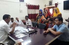 नागौर में लोगों में आक्रोश, एईएन व जेईएन पर गिरी गाज