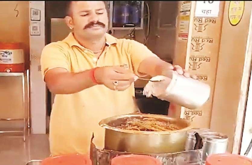 राजस्थान प्रवासी ने पिलाई मुफ्त में चाय