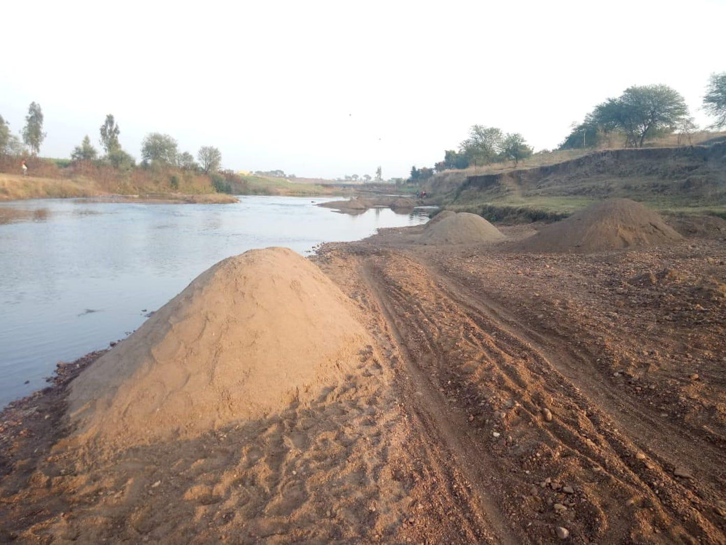 सीएम के जिले में रेत का अवैध खनन और परिवहन रोकने होगी यह कवायद, जानें रणनीति