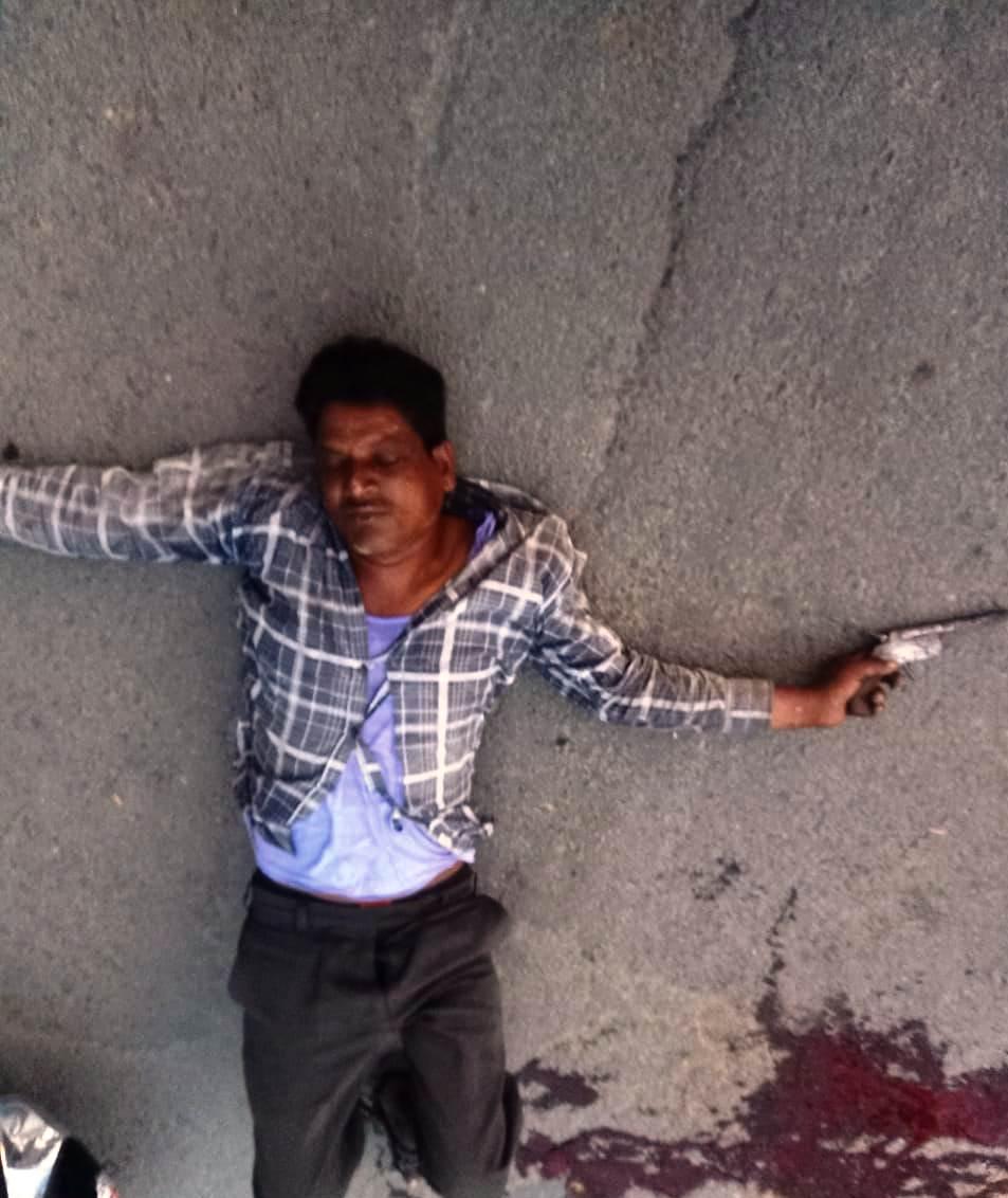 हाफ एनकाउंटर' के बाद बोला अपराधी, पुलिस के बजाए बदमाशों ने मारी गोली