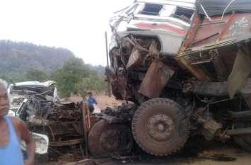 Korba: ट्रक ने ट्रेलर को मारी जबरदस्त टक्कर, तीन की मौत, घंटों फंसा रहा ड्राइवर और दो हेल्पर का शव