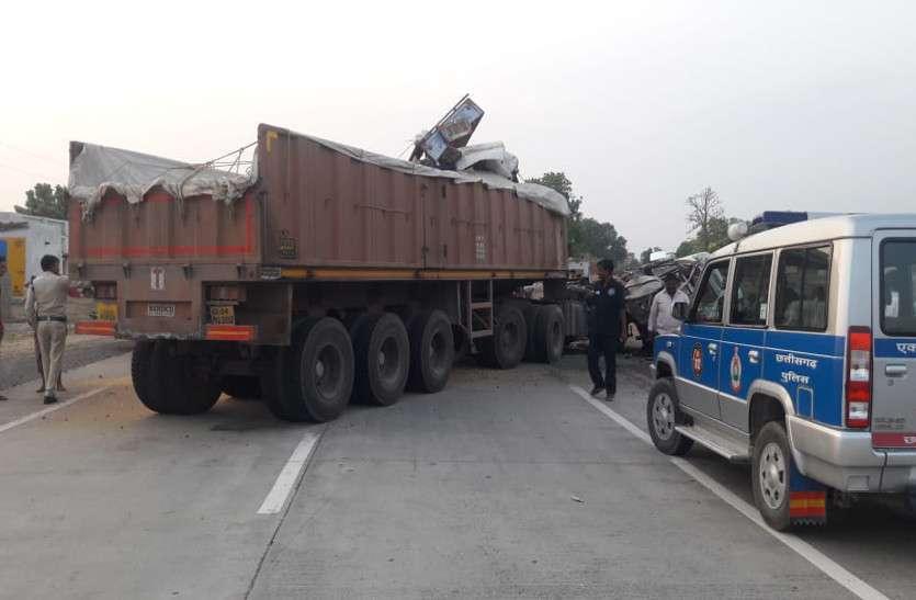 korba road accident