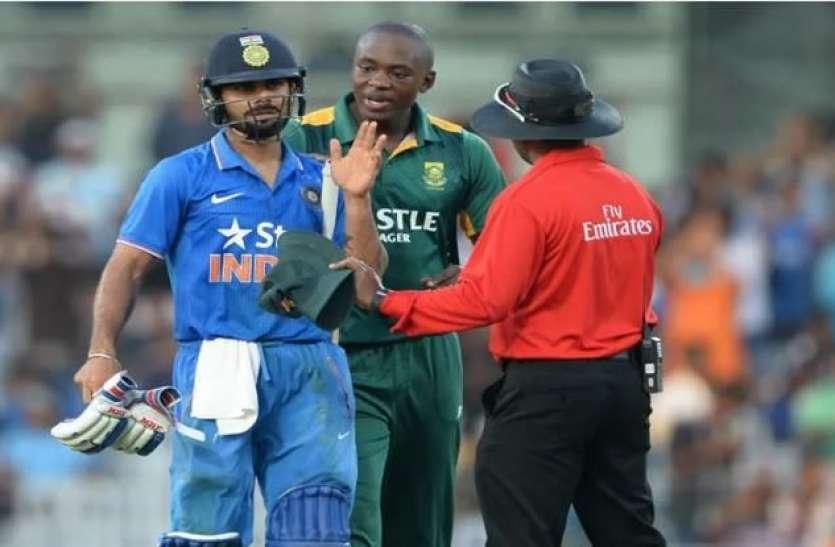 विराट से हुई IPL की दुश्मनी को World Cup में भी जारी रखना चाहते हैं रबाडा, कोहली को बताया 'अपरिपक्व'