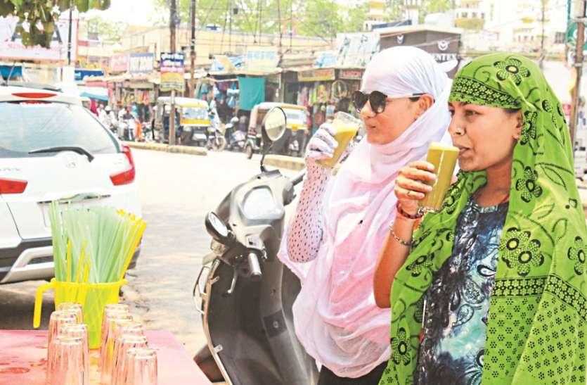 नौ दिनों तक ताप से तपते रहे शहर के लोग अब मानसून के बूंदों का बेसब्री से इंतजार
