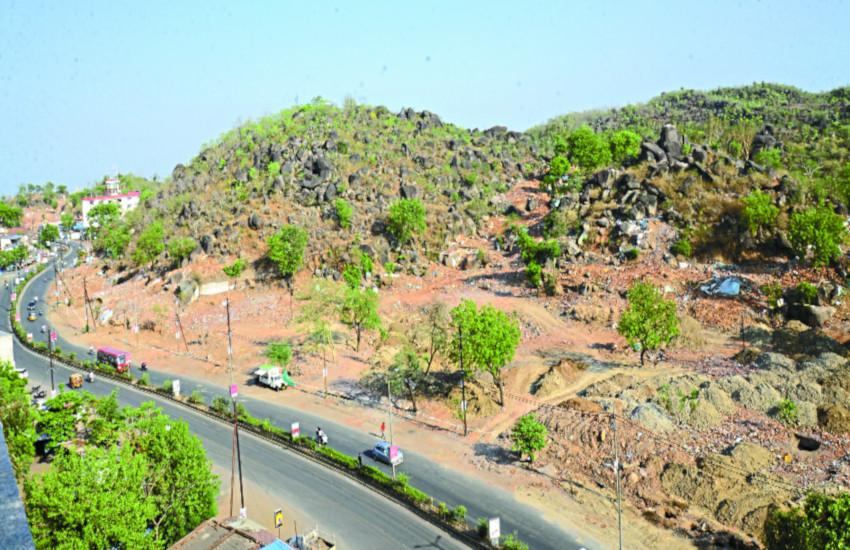 जबलपुर में सिमटते ग्रीन बेल्ट से बढ़ी चिंता