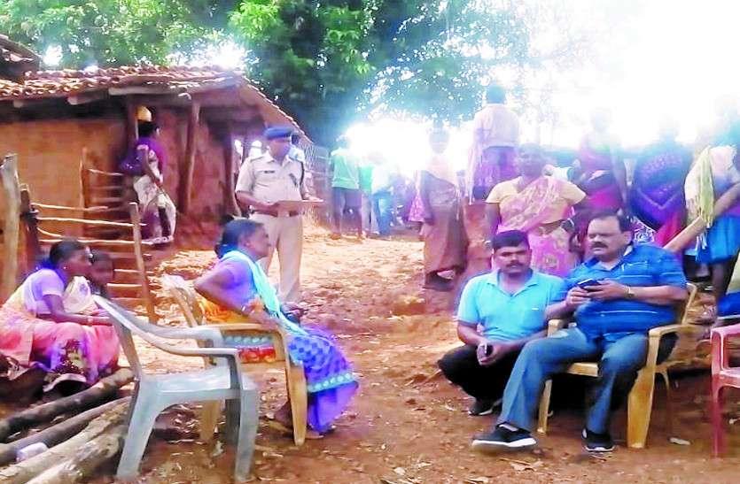 टांगी मारकर ग्रामीण की कर दी हत्या, आरोपी को पुलिस ने किया गिरफ्तार
