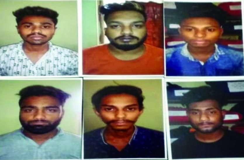 पहले नशे में पुलिस को पीटा, फिर हिरासत में जवानों ने की ऐसी धुलाई कोर्ट में जज को दिखाए युवकों ने रो-रोकर निशान