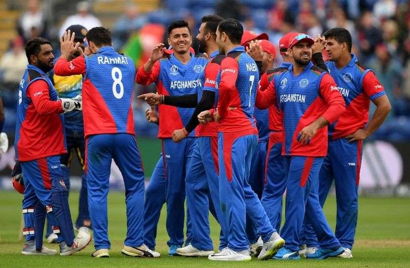 विश्व कप क्रिकेट : श्रीलंका 201 रनों पर ढेर, अफगानिस्तान को 41 ओवर में बनाने होंगे 187 रन