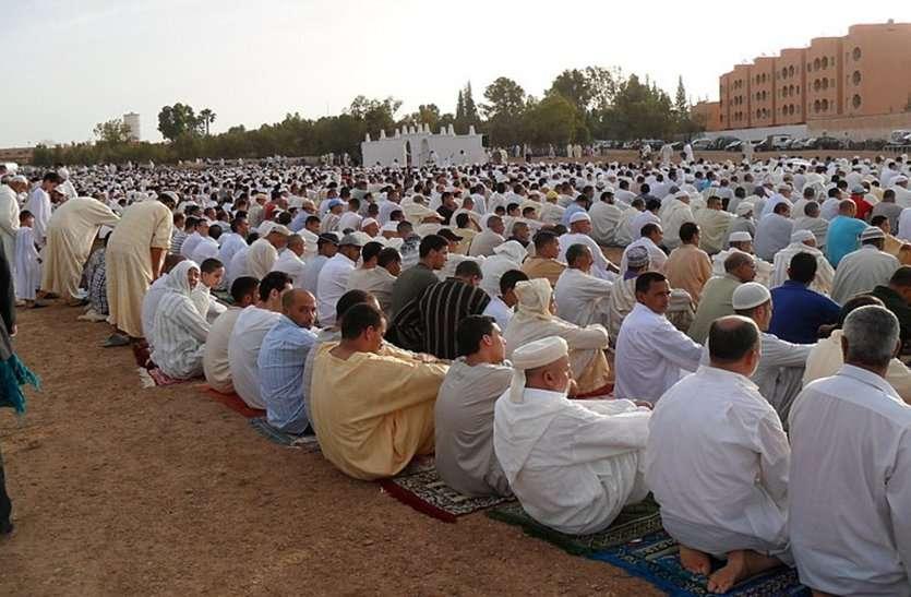 आज चांद दिखा तो कल मनेगी ईद,रोजेदार मांग रहे है अमन की दुआ