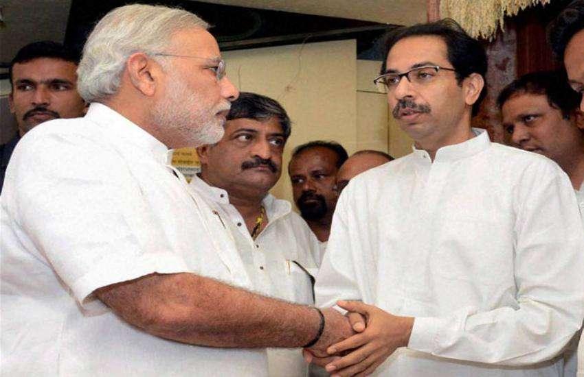 narendra modi and udhav