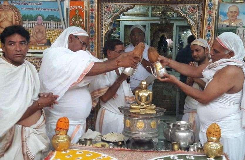 निवाई में हुआ आयोजन: भगवान शांतिनाथ के कल्याणक महोत्सव