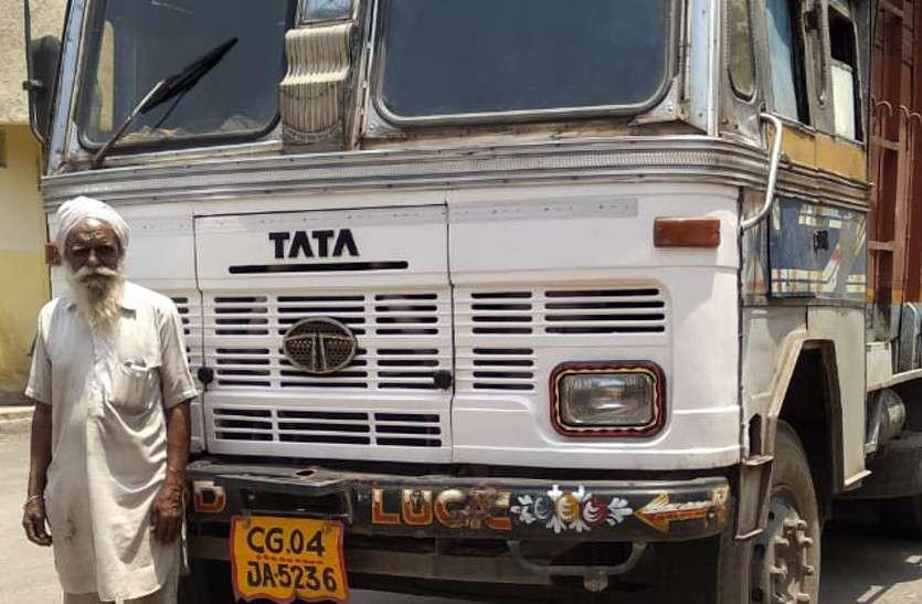 आधी रात दर्री पुलिस ने रोकवाया ट्रक, 10 लाख का कबाड़ जप्त