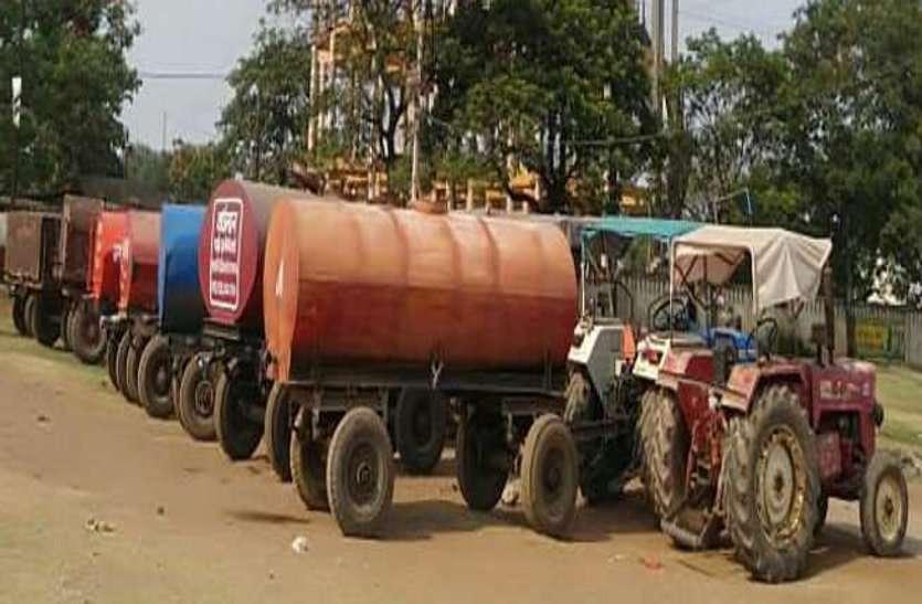 अलवर शहर में खेतों के पानी से लाखों की अवैध कमाई!, बिना रजिस्ट्रेशन दौड़ते हैं 200 से 300 टैंकर