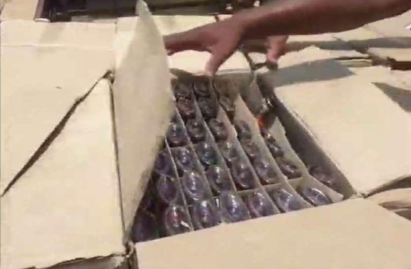 स्कूटी से शराब की तस्करी, घेराबंदी तोडक़र भागा आरोपी