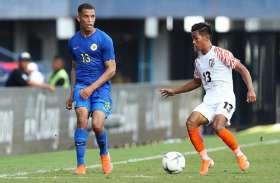 भारतीय फुटबॉल टीम के खेल में स्थिरता नहीं, लेकिन युवा खिलाड़ियों से उम्मीदें