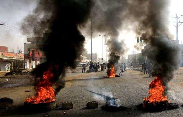 Pro Democratic Protest in Sudan