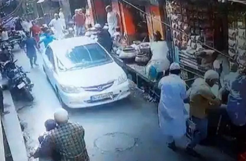 दिल्ली में नमाजियों पर कार चलाने वाला गिरफ्तार, पुलिस ने किया बड़ा खुलासा