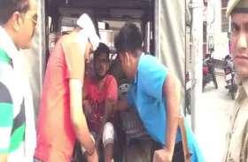 लूट की घटना को अंजाम देकर भाग रहे दो बदमाशों को पुलिस ने मारी गोली, हालत गंभीर