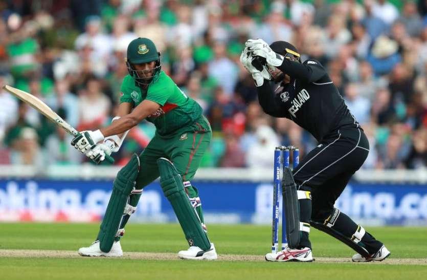 वर्ल्ड कप में एक और उलटफेर करने से चूकी बांग्लादेश, न्यूजीलैंड को गिरते-पड़ते मिली जीत