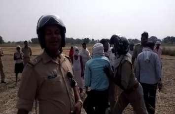 रिंग रोड फेज-2 के लिए सीमांकन का किसानों ने किया जमकर विरोध, पुलिस व प्रशासनिक टीम बैरंग लौटी