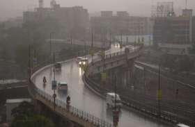 छत्तीसगढ़ में बदला मौसम, तेज बारिश के साथ गिरे ओले