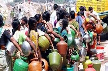 पानी की कमी से गुजरात के इस शहर के लोगों का हाल-बेहाल