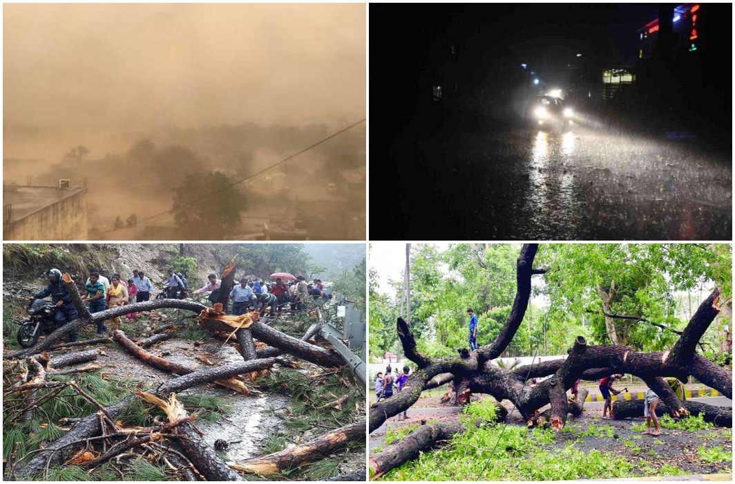 CM Yogi Adityanath order help for death due to storm
