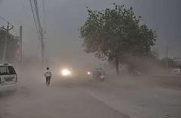 आंधी-बारिश से भारी नुकसान, बिजली गिरने से किसान की मौत, कई इलाकों की बिजली गुल