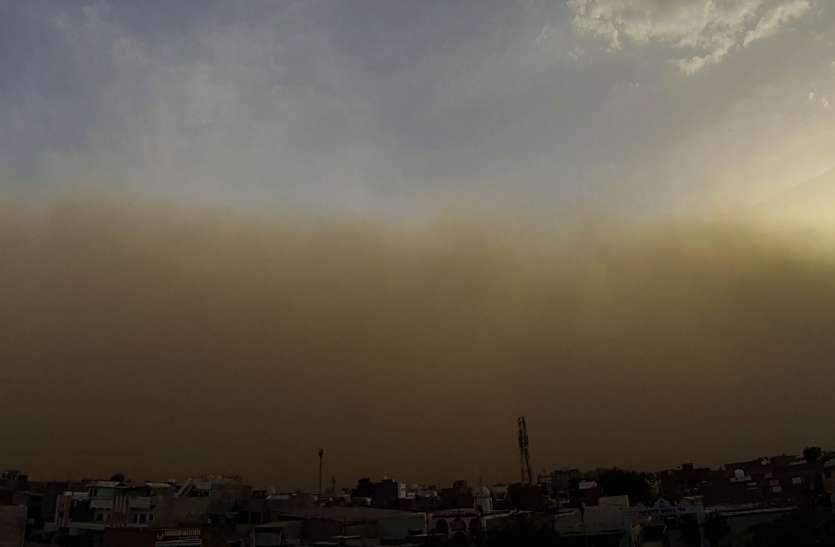 20 किमी प्रति घंटा की रफ्तार से आई आंधी, गिर गया इतने डिग्री पारा
