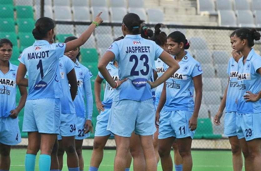 भारतीय महिला जूनियर हॉकी टीम ने आखिरी मैच में आयरलैंड को 3-1से रौंदा
