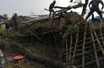 नेपाल में तूफान का कहर, दो की मौत, 100 लोग घायल