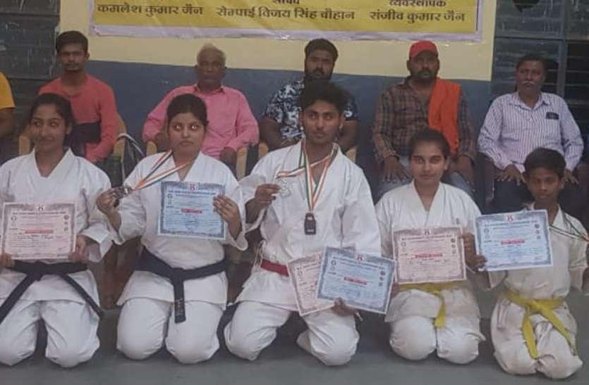खिलाडिय़ों ने इंदौर में लहराया पचरम, पदक जीतकर बढ़ाया पन्ना जिले का मान