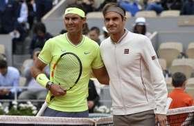 फ्रेंच ओपन टेनिस : सेमीफाइनल में रोजर फेडरर को हराकर राफेल नडाल पहुंचे फाइनल में
