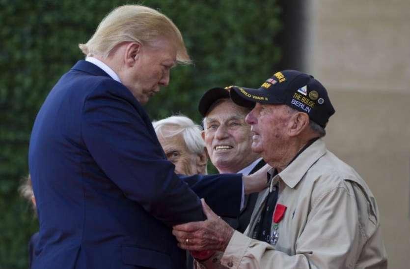 World War II के सैनिकों को सम्मान देने जुटे दुनिया भर के नेता, ताजा हुईं D- Day की यादें