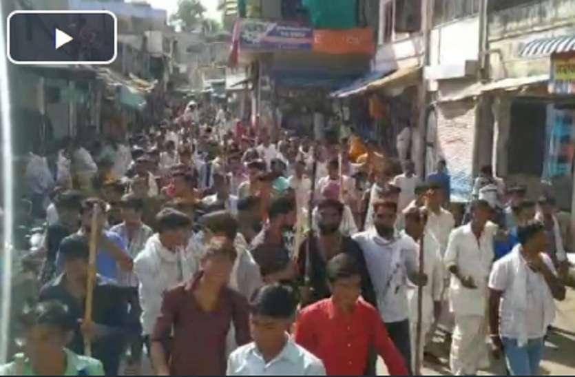 VIDEO : चौथ का बरवाड़ा में देवनारायण भगवान के लक्खी मेले के दौरान निकली शोभायात्रा