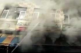हरियाणा: इमारत में लगी आग, ऊपरी मंजिल के स्कूल में 2 बच्चों समेत 3 की मौत
