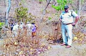 जंगल में संदिग्ध हालत में मिली लड़की लाश, भूख-प्यास के कारण मौत होने की आशंका