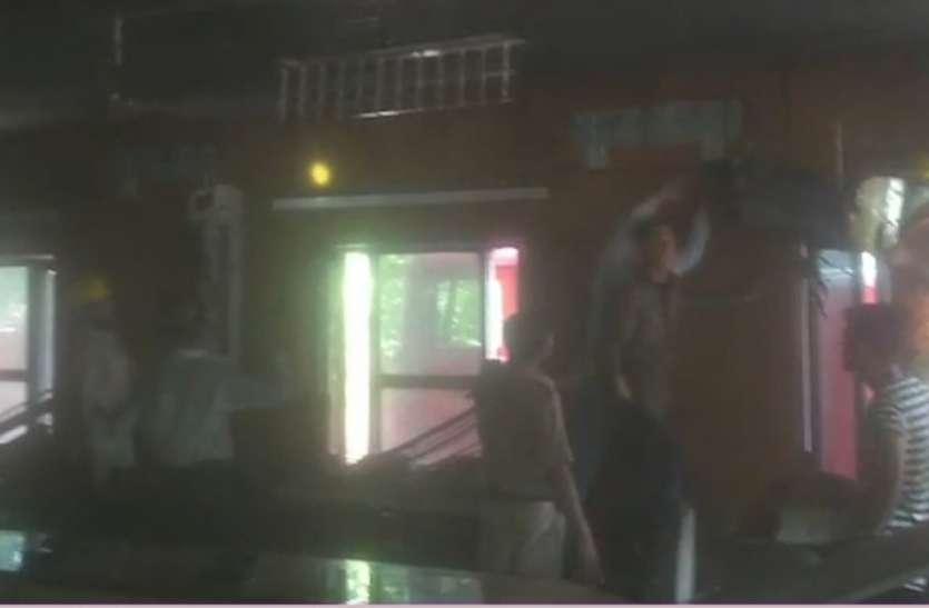 जोधपुर विद्युत वितरण निगम मुख्यालय के मीटिंग हॉल में लगी आग