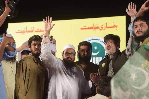 Hafiz Saeed in Gathering