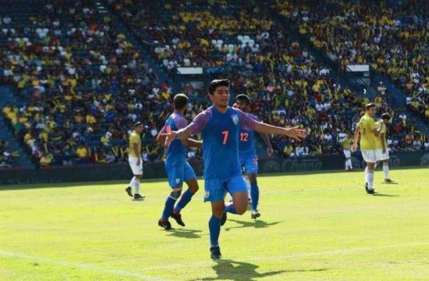 किंग्स कप में भारतीय फुटबॉल टीम ने थाईलैंड को हराया, तीसरे नंबर पर रहा भारत