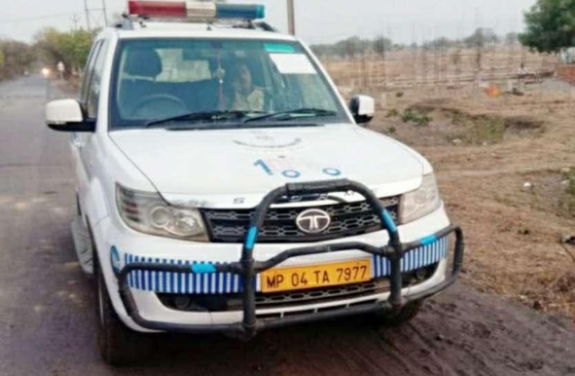 गर्मी में हाफ रही पुलिस की डायल 100 सेवा, कई चार पहिया वाहन महीनों से खड़े, बाइक भी नदारद