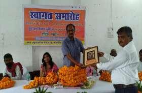 IAS सुरेंद्र सिंह का वाराणसी के इस गांव में हुआ जोरदार स्वागत